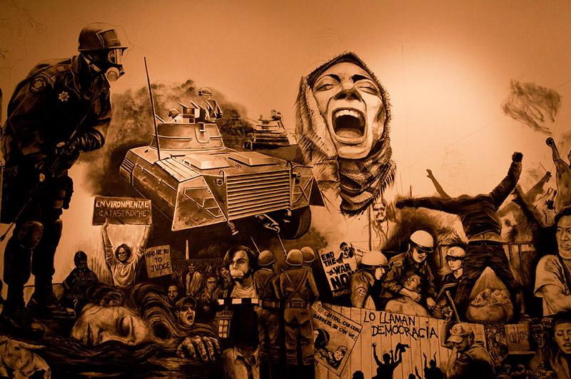 A distopia política favorece o sentimento de rompimento institucional