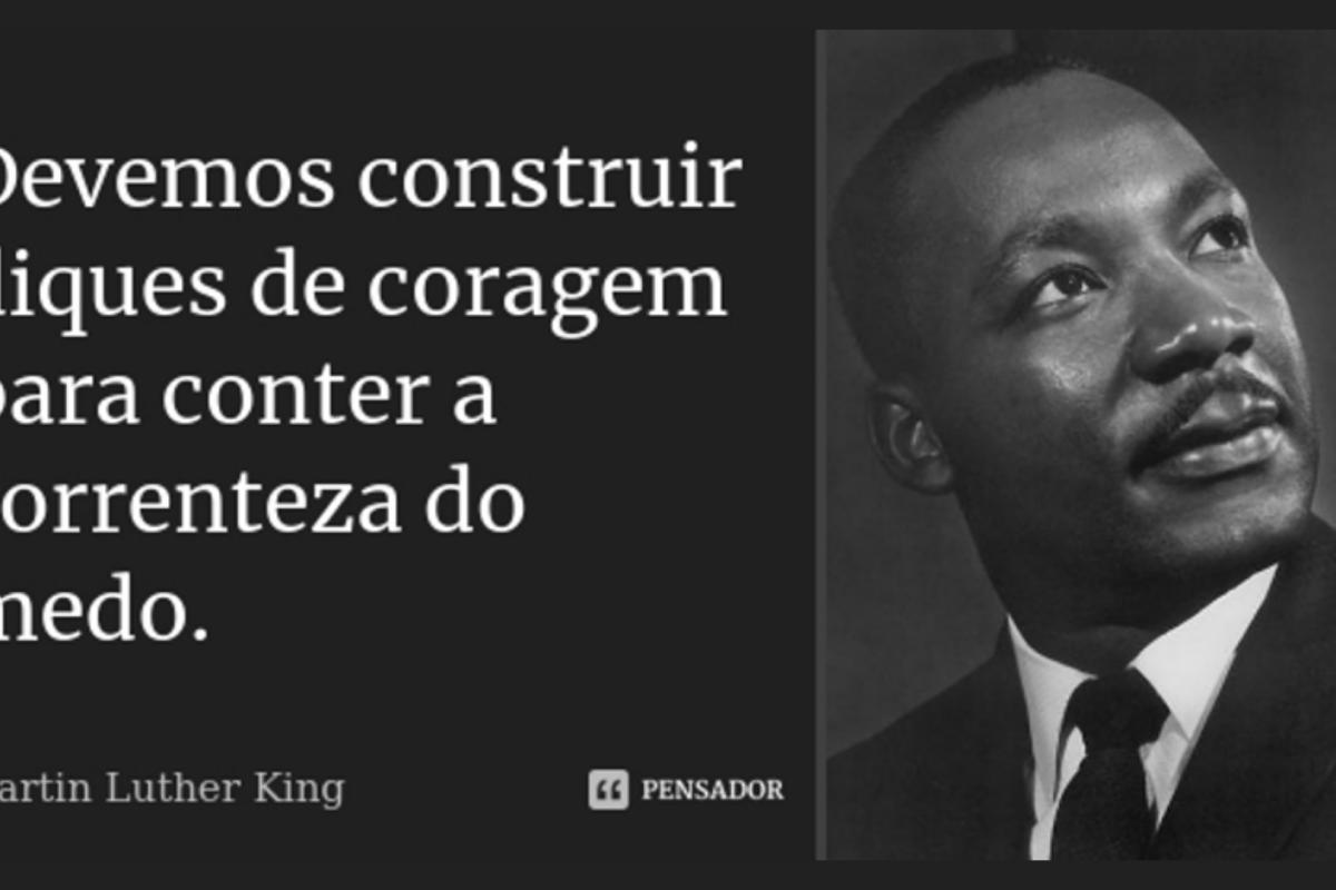 Martin Luther King sabia que não há nada de pacífico na ação direta não-violenta