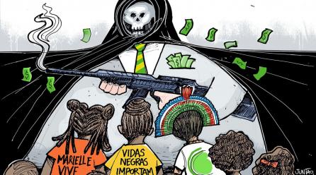 A necropolítica brasileira e sua origem na guerra colonizadora
