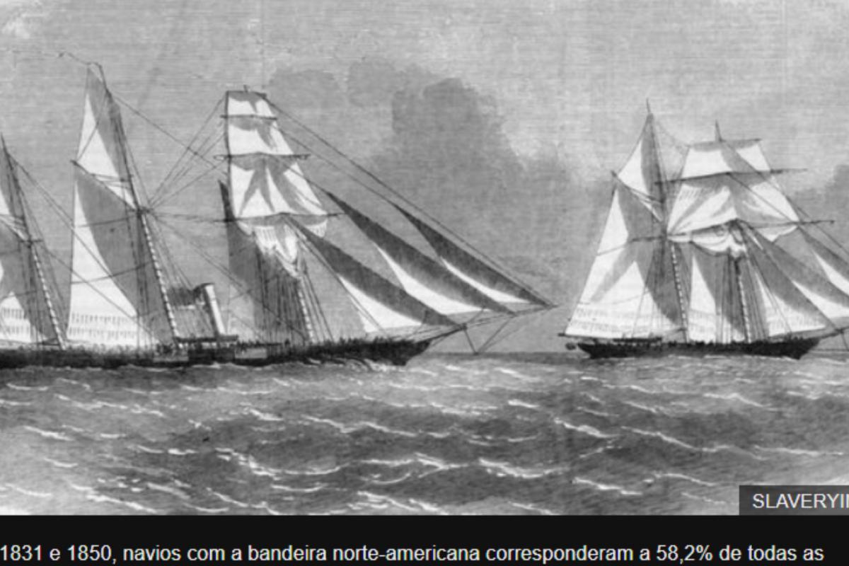 Como os EUA lucraram com tráfico de africanos escravizados para o Brasil