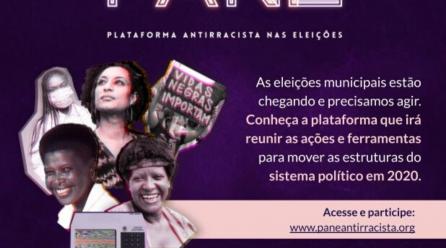 Lançamento: Plataforma Antirracista nas Eleições!