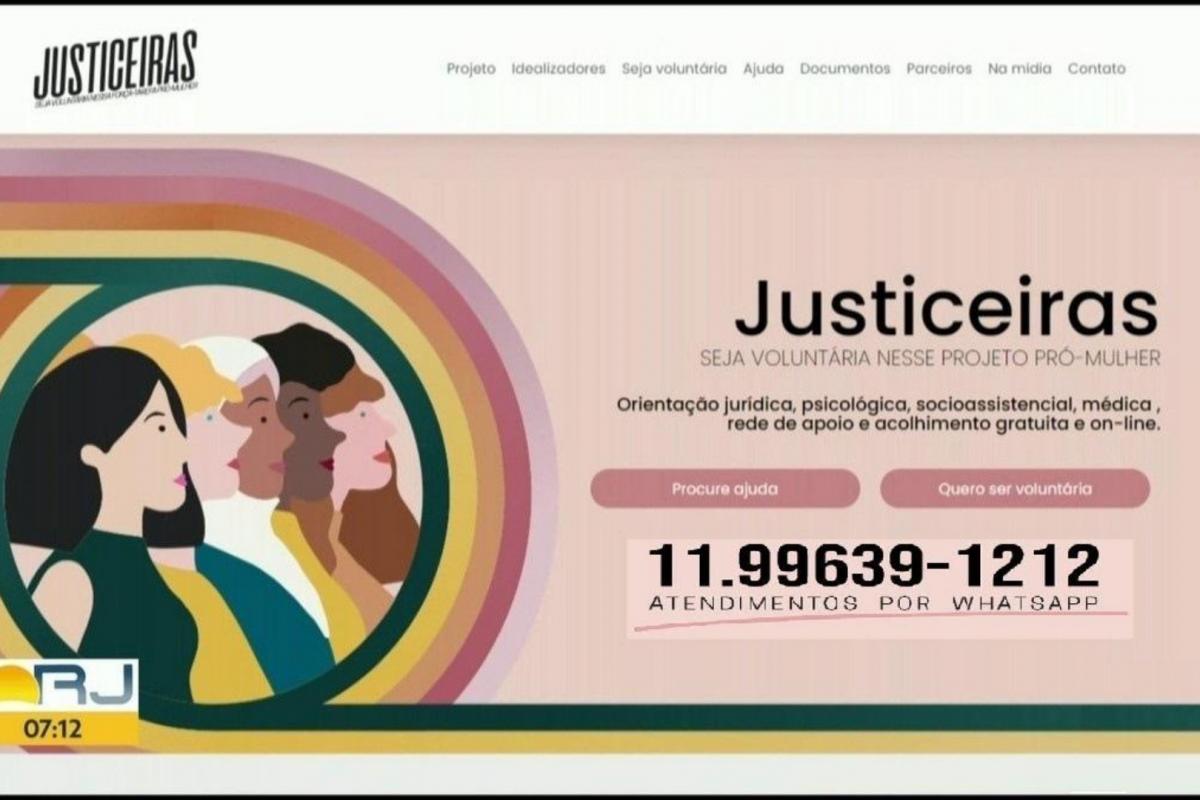 Projeto 'Justiceiras' apoia e acolhe mulheres vítimas de violência doméstica