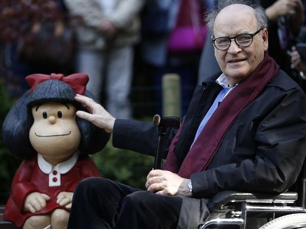 Morre quino, o cartunista argentino criador da Mafalda