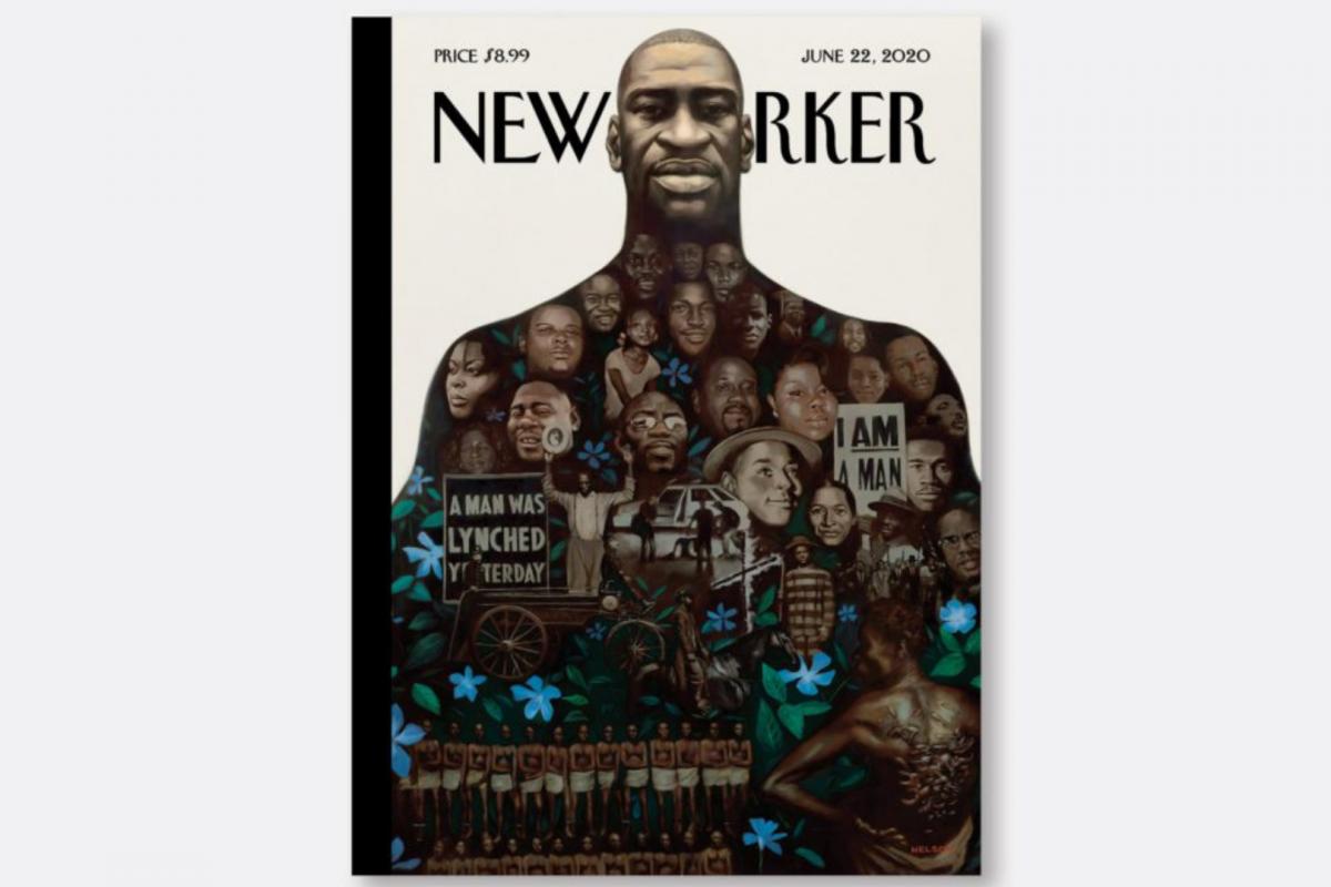 Após morte de George Floyd, capas de revistas com negros disparam