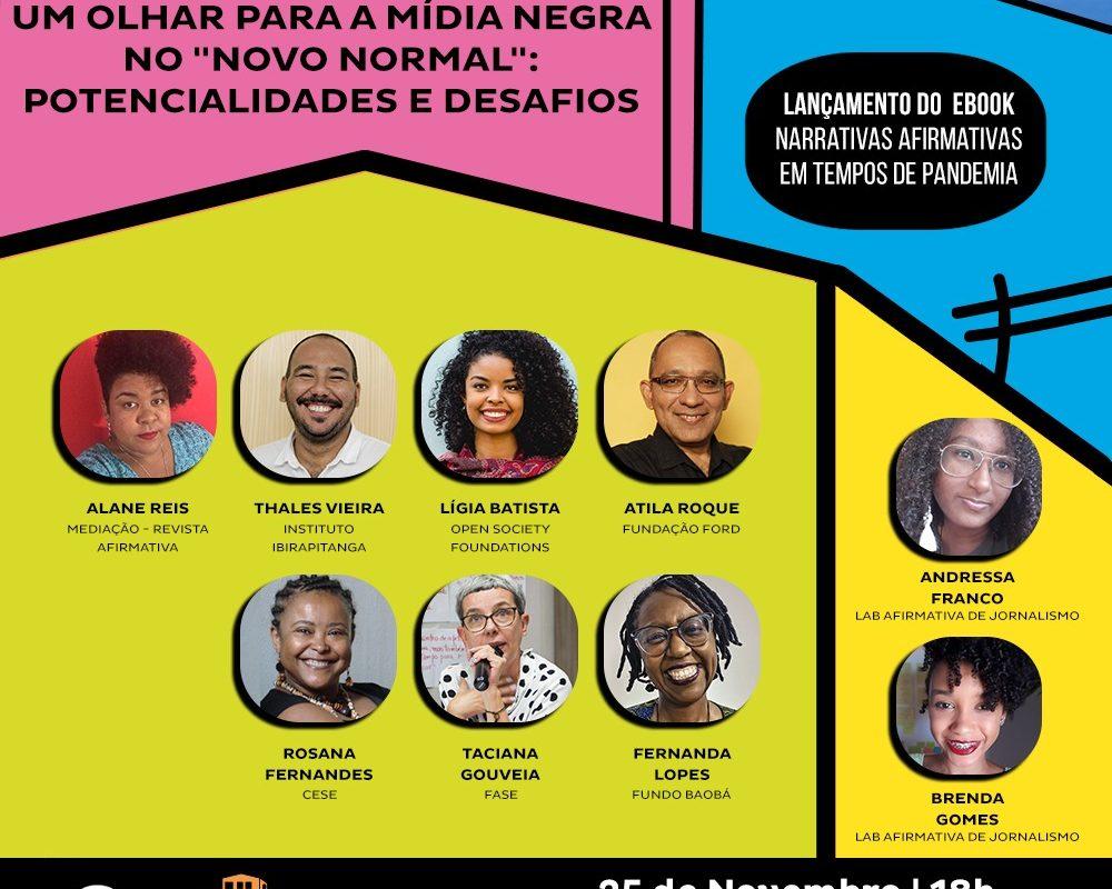 """Mídias Negras e o """"novo normal"""": Potencialidades e Desafios"""
