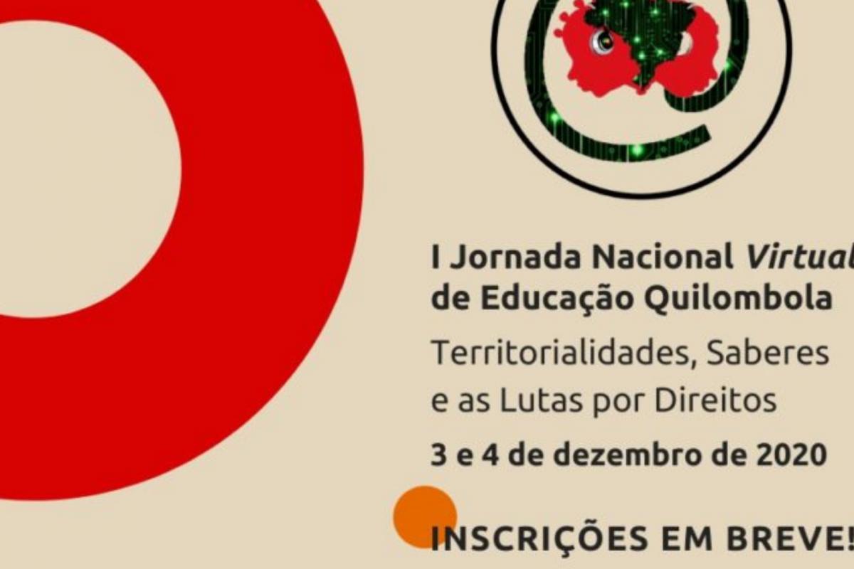 I Jornada Nacional Virtual de Educação Quilombola