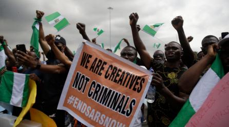 Solidariedade à luta da juventude nigeriana pelo fim da violência policial